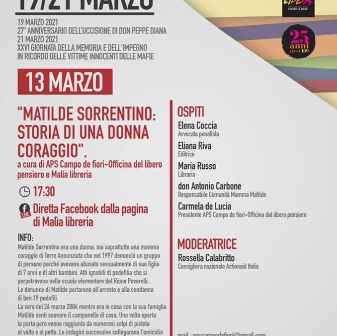 Matilde Sorrentino, storia di una donna